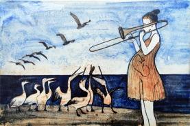 Jazz, tromboonimängija