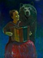Tüdruk ja karu